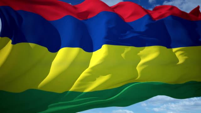 Mauritius-Flagge