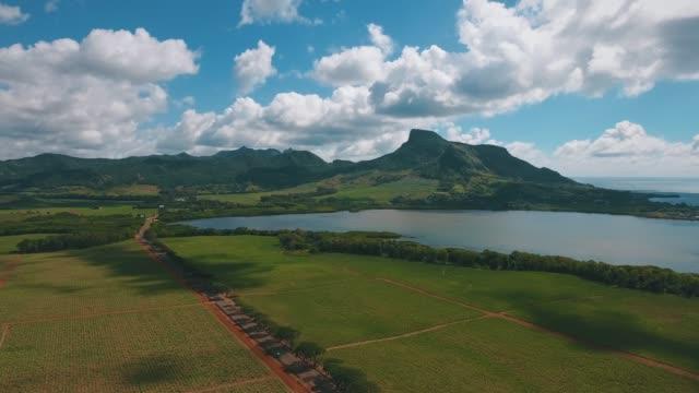 mauritius - 丘点の映像素材/bロール