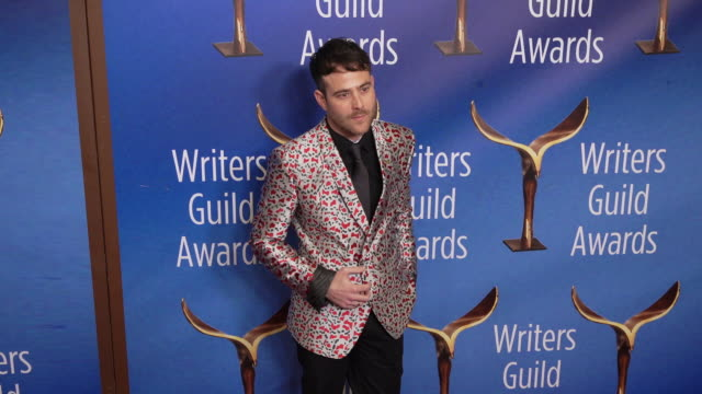 max borenstein at the 2020 writers guild awards at the beverly hilton hotel on february 01 2020 in beverly hills california - the beverly hilton hotel stock videos & royalty-free footage