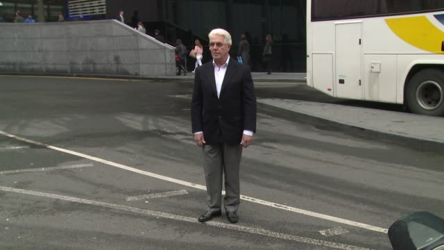 max clifford at max clifford court hearing at southwark crown court on march 28 2014 in london england - サウスワーク刑事法院点の映像素材/bロール