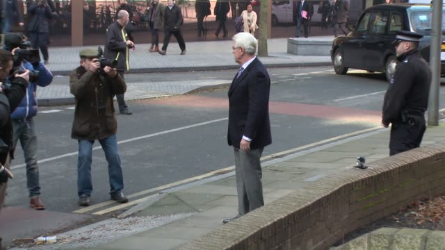 max clifford at max clifford on assault charges at southwark crown court on march 5 2014 in london england - サウスワーク刑事法院点の映像素材/bロール