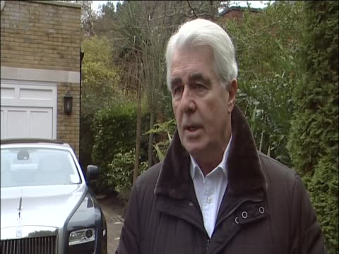 stockvideo's en b-roll-footage met max clifford comments on behalf of his client shrien dewani on the accusations of his involvement in the murder of his wife anni in south africa - publiciteitsmedewerker