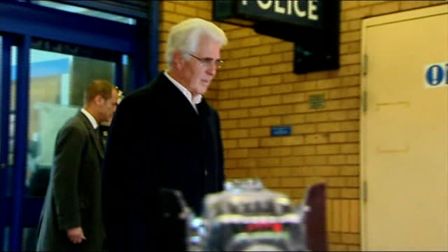 max clifford pleads not guilty to indecent assault charges t06121201 / tx belgravia police station photography** clifford towards as leaving police... - fiancé stock videos and b-roll footage