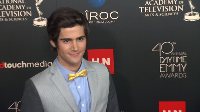 Max Ehrich at The 40th Annual Daytime Emmy Awards on 6/16/13 in Los Angeles CA