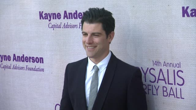 max greenfield at 14th annual chrysalis butterfly ball in los angeles ca - chrysalis butterfly ball video stock e b–roll