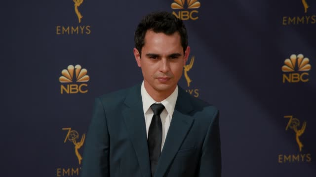 vídeos de stock, filmes e b-roll de max minghella at the 70th emmy awards arrivals at microsoft theater on september 17 2018 in los angeles california - 70th annual primetime emmy awards