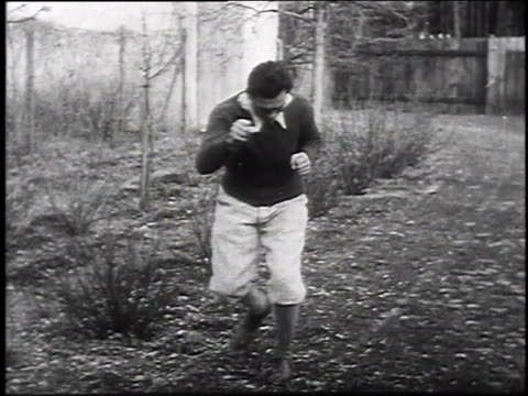 max schmeling training for upcoming fight / germany - 1930 stock-videos und b-roll-filmmaterial