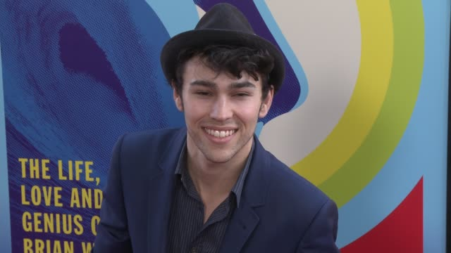 max schneider at the love mercy los angeles premiere at ampas samuel goldwyn theater on june 02 2015 in beverly hills california - samuel goldwyn theater stock videos & royalty-free footage