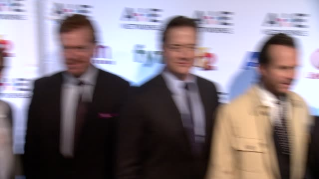max thieriot, christopher mcdonald, brendan fraser, bill paxton, olivier martinez, jeffrey dean morgan and ray liotta at 2014 a+e networks upfront -... - bill paxton stock videos & royalty-free footage