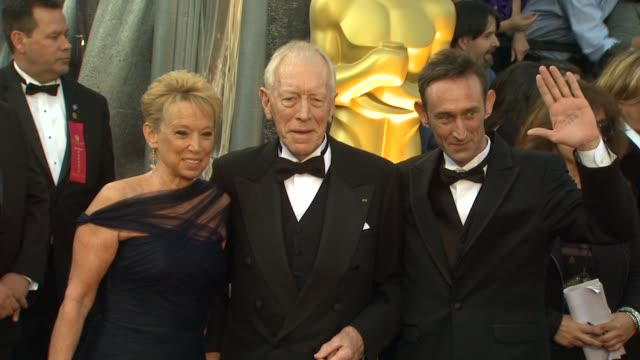 Max von Sydow at 84th Annual Academy Awards Arrivals on 2/26/2012 in Hollywood CA