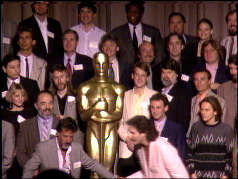 Max Von Sydow at the 1989 Academy Awards Luncheon at the Beverly Hilton in Beverly Hills California on March 21 1989