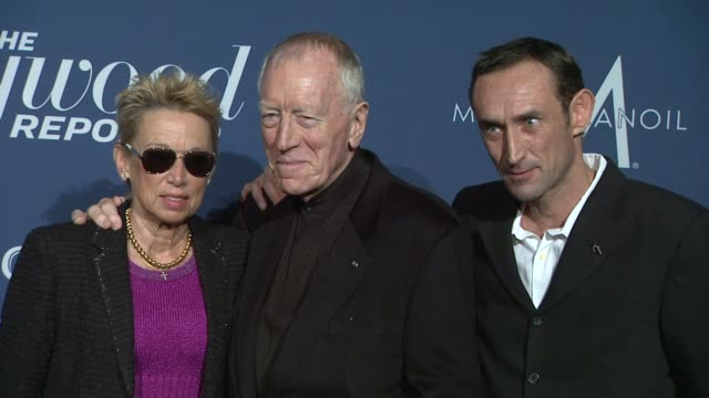 Max von Sydow at The Hollywood Reporter Nominees' Night 2012 on 2/23/2012 in Los Angeles CA