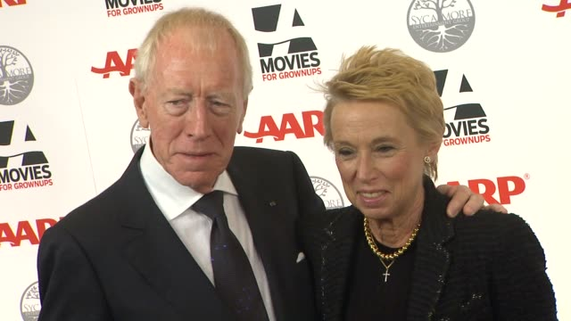 Max von Sydow Catherine Brelet at AARP Magazine's 11th Annual Movies For Grownups Awards Gala on 2/6/12 in Beverly Hills CA