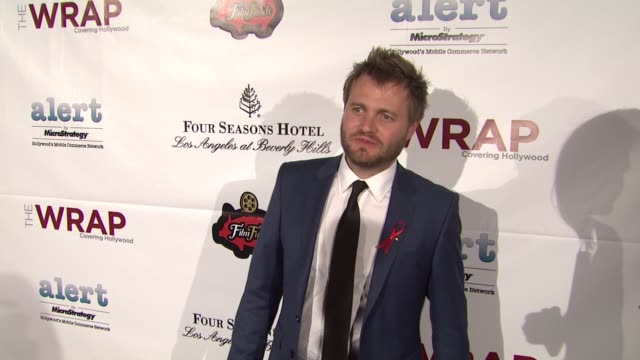 max zahle at thewrap.com pre-oscar party on 2/22/2012 in beverly hills, ca. - oscar party stock videos & royalty-free footage