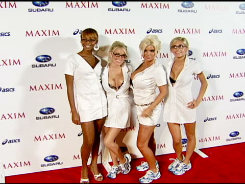 Maxim Girls at the Maxim Magazine's ICU Event at Area in Los Angeles California on August 2 2007