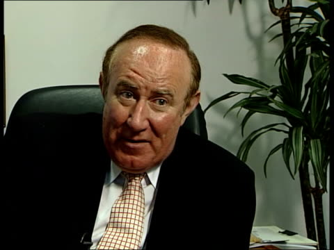 maxine carr awaiting prison release itn andrew neil interviewed sot - andrew neil stock videos and b-roll footage