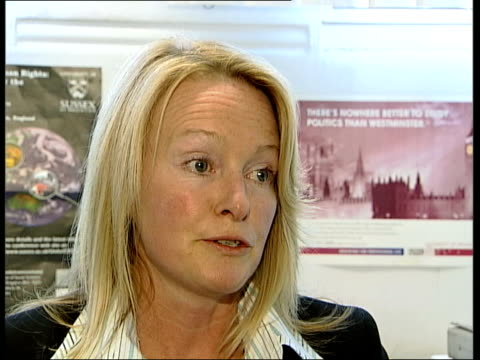 Maxine Carr awaiting prison release ITN Dr Julia Davidson interviewed SOT