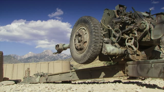 may 1, 2009 howitzer / najil, afghanistan - howitzer stock videos & royalty-free footage
