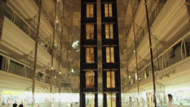 may 1 2009 ws td interior of shopping center / kabul afghanistan - kabul stock-videos und b-roll-filmmaterial