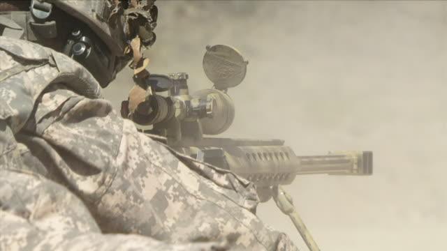 May 1 2009 CU ZO WS Sniper training with gun / Konar Valley Afghanistan