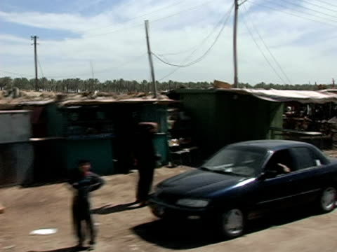 may 13 2004 view of baghdad from car, baghdad, iraq, audio - baghdad stock videos & royalty-free footage