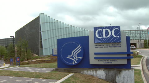 may 15, 2008 center for disease control sign outside of tom harkin global communication center / atlanta, georgia, united states - headquarters stock videos & royalty-free footage