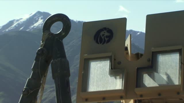 may 18 2009 cu zo ms detail of humvee / panjshir valley afghanistan / audio - panjshir valley stock videos and b-roll footage