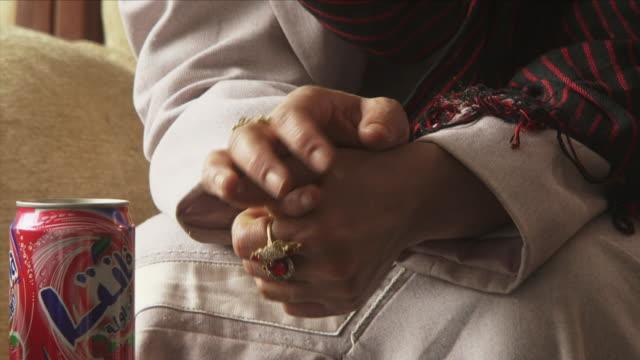 may 18 2009 cu hands of woman with jewelry / panjshir valley afghanistan / audio - panjshir valley stock videos and b-roll footage