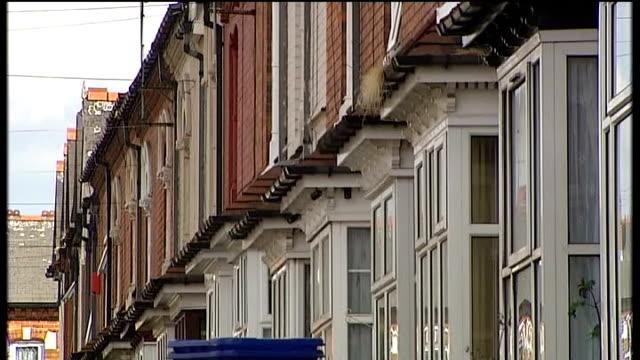 may 2008 birmingham: handsworth: ext house where khyra ishaq lived - handsworth stock videos & royalty-free footage