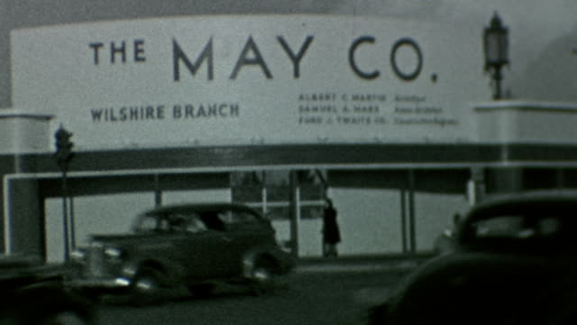 May Company Wilshire Construction at Wilshire Blvd and Fairfax on March 01 1939 in Los Angeles California