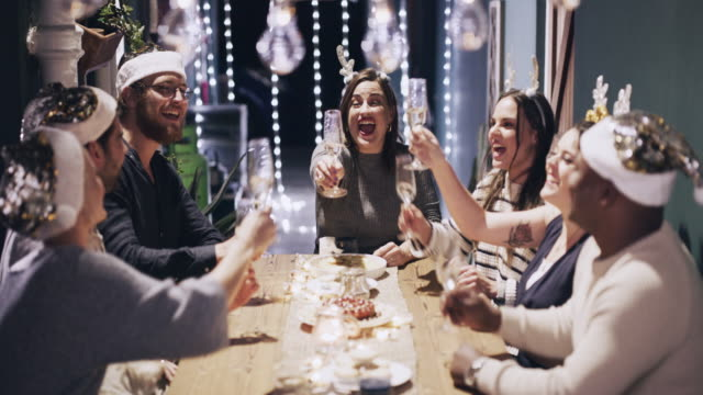 may our laughter be limitless - dinner party stock videos & royalty-free footage