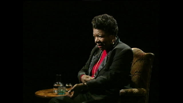 "maya angelou recalls how a former boyfriend forced her to watch him inject heroin as a deterrent against taking drugs. she says ""it was very kind... - injecting heroin stock videos & royalty-free footage"