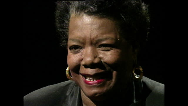 maya angelou responds to being asked whether she is in love yes yes yes yes yes yes i'm in love yes 1994 - falling in love stock videos & royalty-free footage