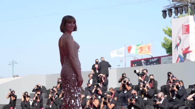 maya hawke arrives on the red carpet ahead of the 'mainstream' screening during the 77th venice film festival on september 05 2020 in venice italy - gif stock videos & royalty-free footage