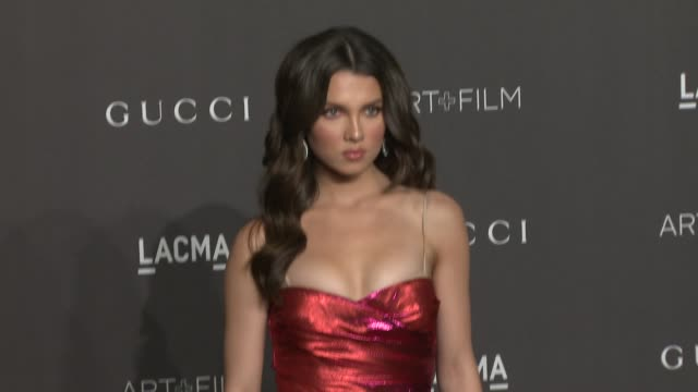stockvideo's en b-roll-footage met maya henry at the 2018 lacma art film gala honoring catherine opie guillermo del toro and presented by gucci at lacma on november 03 2018 in los... - maya