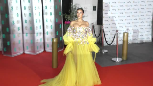 maya jama attends the ee british academy film awards 2020 after party at the grosvenor house hotel on february 02 2020 in london england - british academy film awards stock videos & royalty-free footage