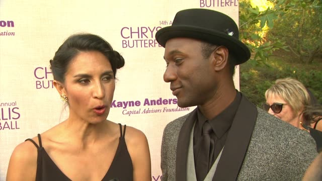 interview maya jupiter aloe blacc on being a part of the night what they appreciate about chrysalis the last time someone gave them a second chance... - chrysalis butterfly ball video stock e b–roll