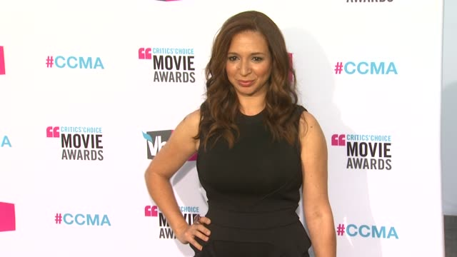 Maya Rudolph at 17th Annual Critics' Choice Movie Awards on 1/12/12 in Hollywood CA