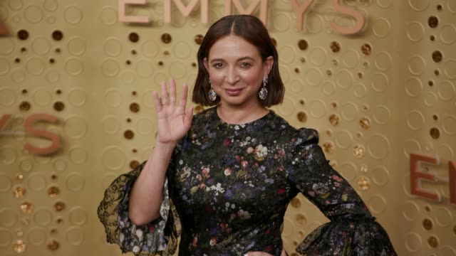 maya rudolph at the 71st emmy awards at microsoft theater on september 22 2019 in los angeles california - maya rudolph video stock e b–roll