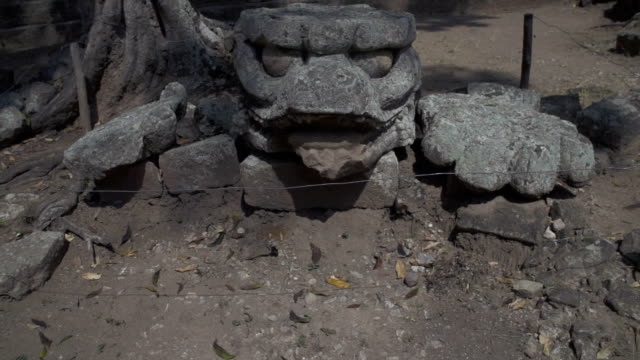 Mayan jaguar head