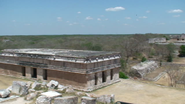mayan ruins of the yucatan - latin american civilizations stock videos and b-roll footage