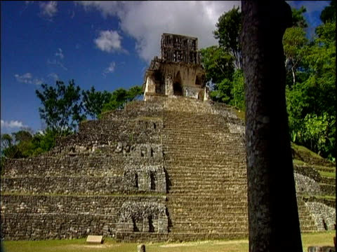 mayan ruins palenque - palenque stock-videos und b-roll-filmmaterial