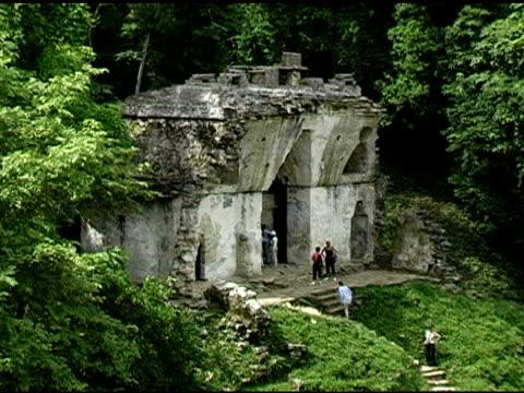 Mayan Temple Palenque Mexico Ruins