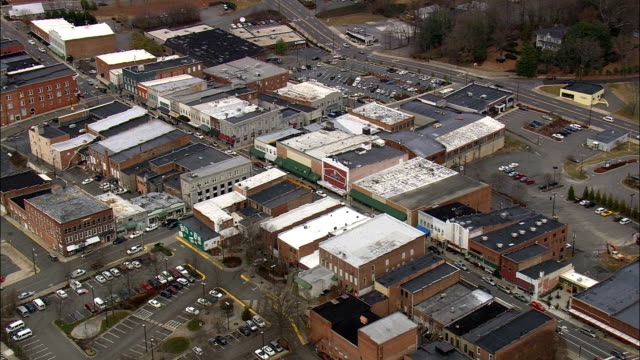 mayberry - Aerial View - North Carolina,  Surry County,  United States