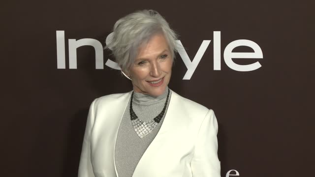 Maye Musk at 2018 InSyle Awards at The Getty Center on October 22 2018 in Los Angeles California
