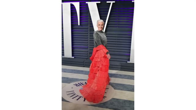 maye musk attends the 2019 vanity fair oscar party hosted by radhika jones at wallis annenberg center for the performing arts on february 24 2019 in... - vanity fair stock videos and b-roll footage