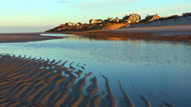 mayflower beach on cape cod - north atlantic ocean stock videos & royalty-free footage