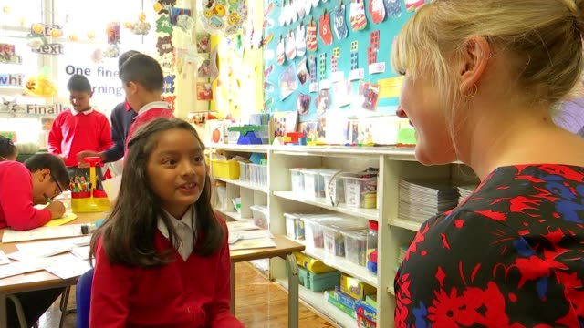 Mayflower Primary School commemorates pupils killed in World War I bombing raid ENGLAND London Poplar Mayflower Primary School INT Vox Pop SOT School...