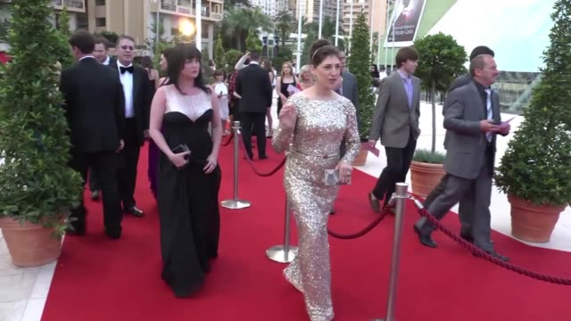 mayim bialik at 52nd annual monte carlo television festival mayim bialik at 52nd annual monte carlo television on june 12 2012 in monaco monaco - mayim bialik stock videos & royalty-free footage