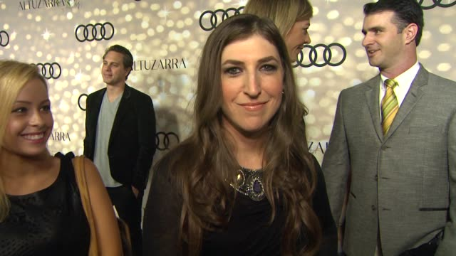 mayim bialik at audi and altuzarra kick off emmy week 2013 mayim bialik at audi and altuzarra kick off emmy at cecconi's restaurant on september 15... - mayim bialik stock videos & royalty-free footage